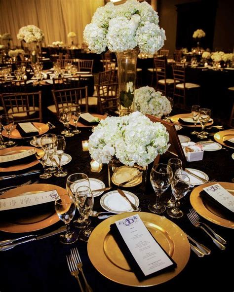 Black And Gold L Luxury Black And Gold Wedding Decoration Ideas Black And