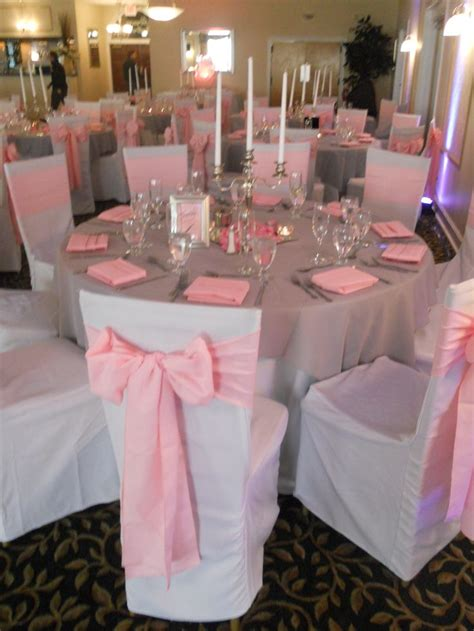 Pink Sashes For Chairs by Best 25 White Chair Covers Ideas On Wedding