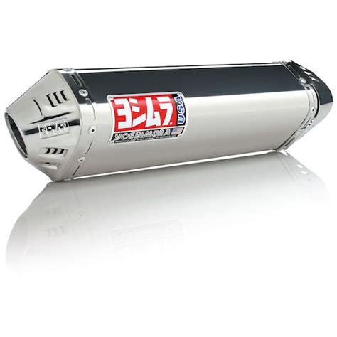 Yoshimura Japan Stainless 250 Series yoshimura trc race slip on exhaust kawasaki 250r 2008 2013 revzilla