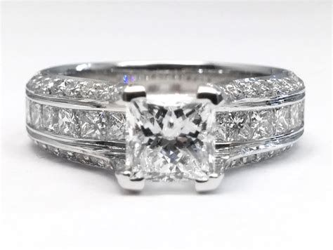 bridge engagement rings from mdc diamonds nyc
