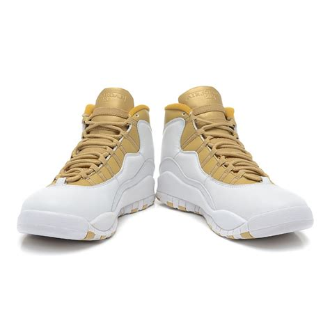 white jordans shoes air 10 platinum high white golden nike jordans shoes