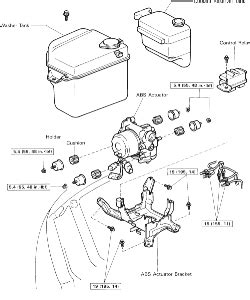 repair anti lock braking 1993 lexus es parking system repair guides anti lock brake system actuator autozone com