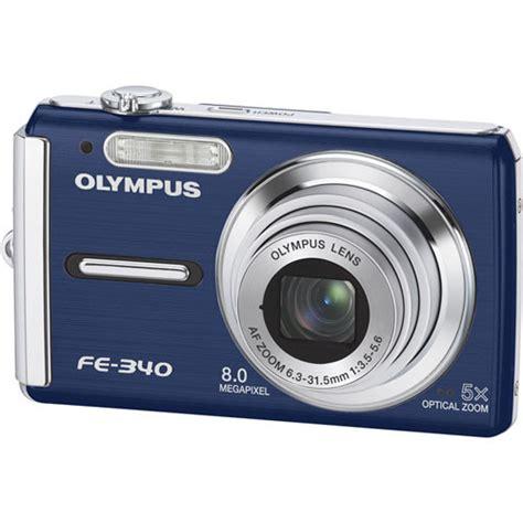 olympus fe digital olympus fe 340 digital blue 226225 b h photo