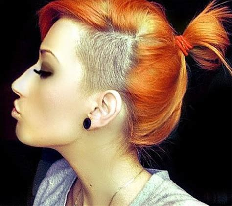 how to style half shaved haircut for women 52 of the best shaved side hairstyles