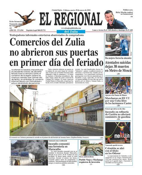 el regonal del zulia calam 233 o el regional del zulia 30 03 2010