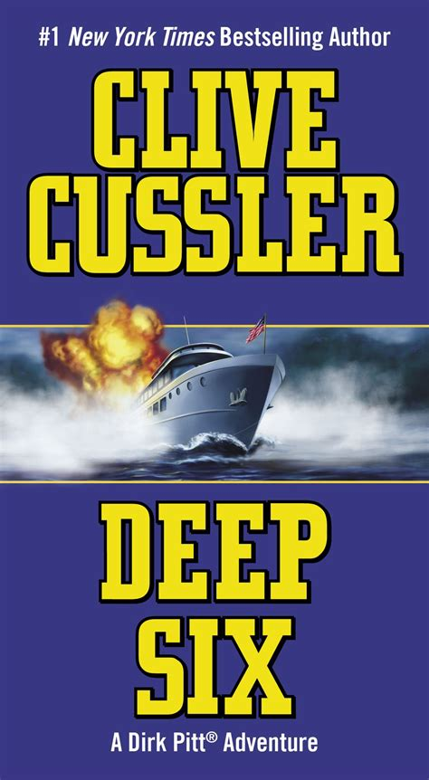 deep six dirk pitt b002txzt20 clive cussler deep six