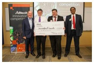Uofl Mba Cost by Uofl Team Wins Entrepreneurship Competition Earns 10 000