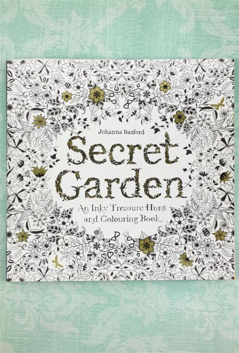 secret garden colouring book cover books lost coloring book sincerely sweet