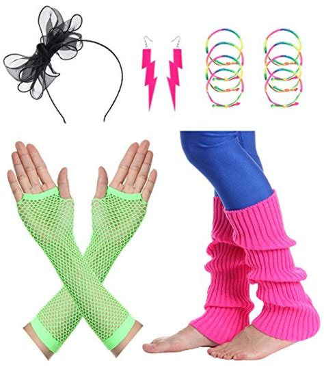 80s accessories set for best 80s themed costumes at simplyeighties