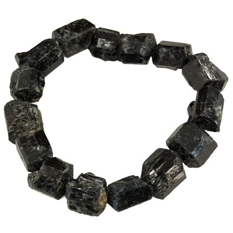 Gemstone Bracelet   Black Tourmaline (Natural)