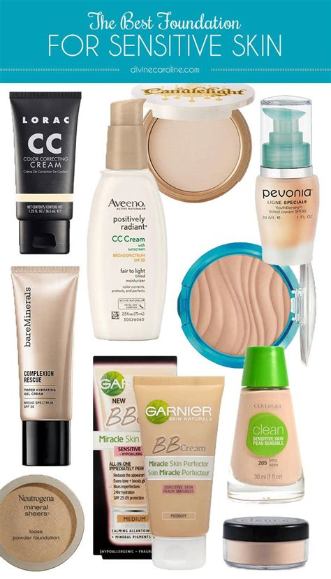 Top 10 Products For Sensitive Skin by Best Shoo For Sensitive Skin More