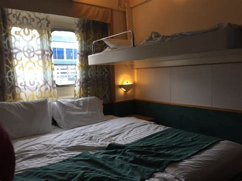 what is a pullman bed cabin on royal caribbean enchantment of the seas ship