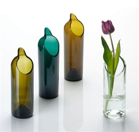 How To Make Vases Out Of Wine Bottles by