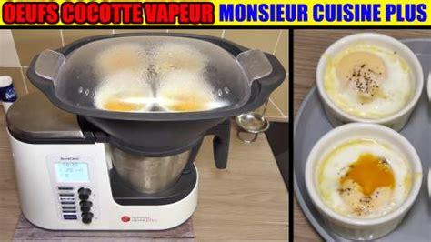 cuisine vapeur thermomix œufs cocotte 233 pinards monsieur cuisine plus 233 dition lidl