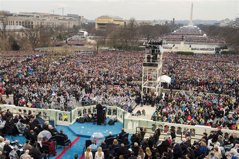 picture of inauguration crowd inauguration day in photos trump supporters take to mall