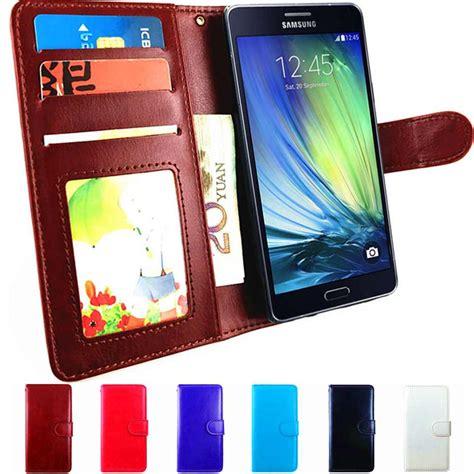 Samsung A3 2015 A300 Leather Flip Wallet Cover Murah a3 2015 flip leather wallet cover for samsung galaxy
