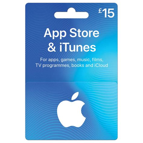 Itunes 15 Gift Card - itunes 163 15 gift card at wilko com