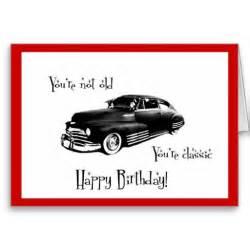 birthday card car classic car birthday card cars and birthdays