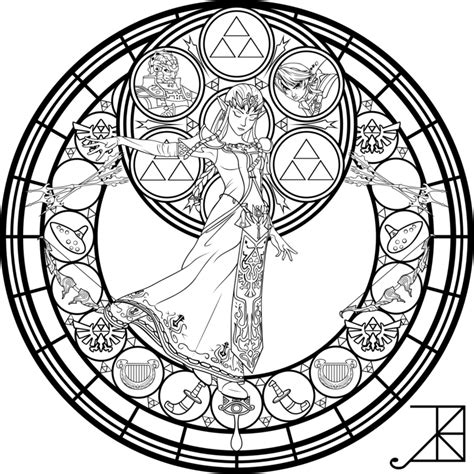disney mandala coloring pages stained glass coloring page by akili amethyst