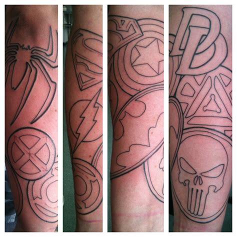 superman irish st tattoo