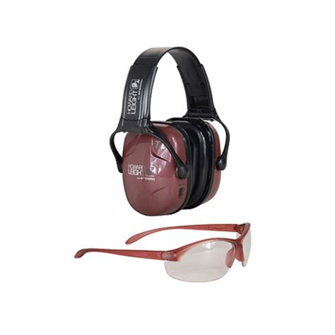 Howard Leight Shooting Combo Earmuffs Glasses Green R 01761 howard leight s shooting combo 25db