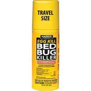 harris 3 oz travel size egg kill bed bug killer egg 3