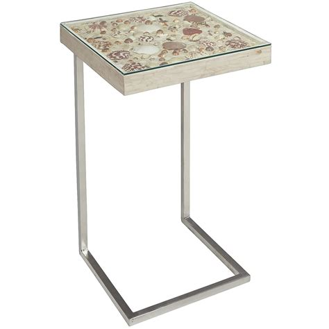 pier one glass table seashell c table pier 1 imports