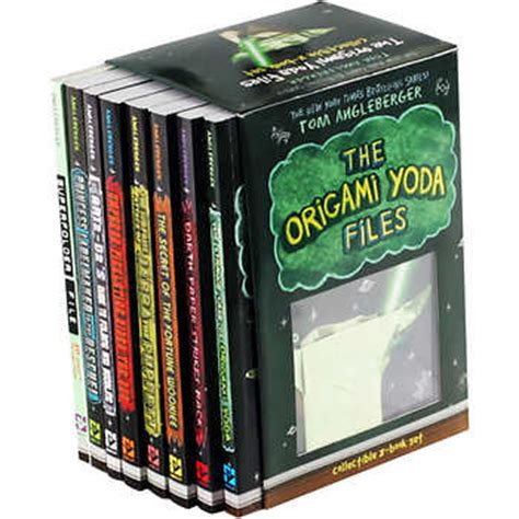 Origami Yoda Files - the origami yoda files 8 book box set by tom angleberger