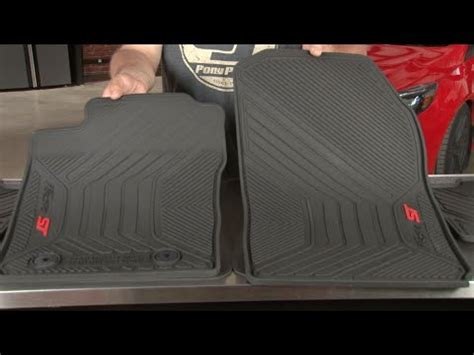 Ford St Mats by St Ford All Weather Floor Mats With St Logo 2014