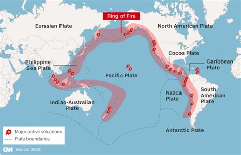earthquake ring of fire magnitude 6 1 earthquake hits off coast of japan