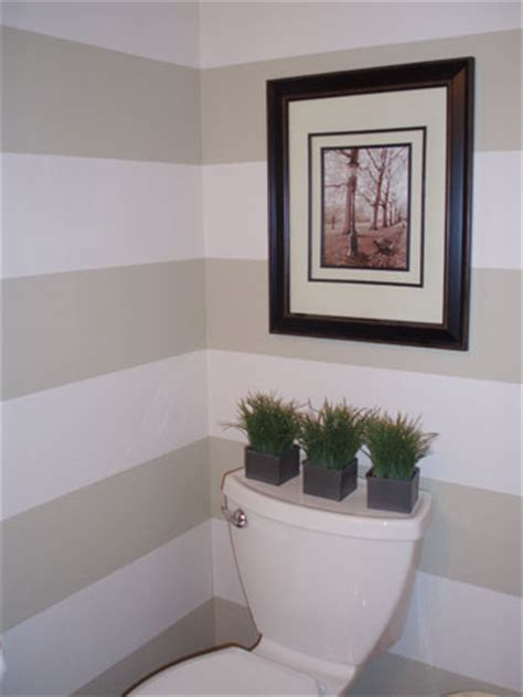 striped bathroom walls reader redesign row row row your walls young house love