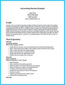 resume template for accountant
