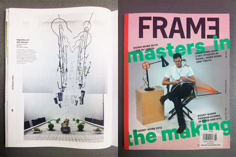 frame design mag mfa id design grad kimberly kelly 12 published in