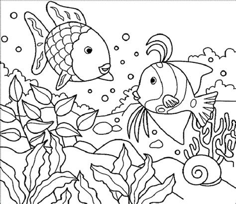 mewarnai gambar bajak laut mewarnai gambar gambar mewarnai pemandangan ikan bawah laut mewarnai gambar