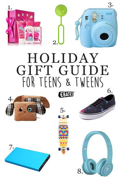 holiday gift guide for teens tweens holiday gift