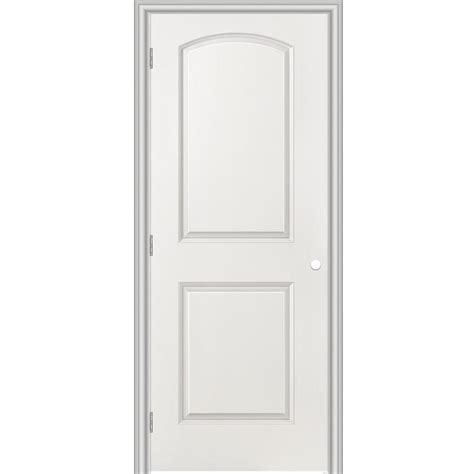 Shop Masonite Classics Primed Hollow Core Molded Composite Masonite Prehung Interior Doors