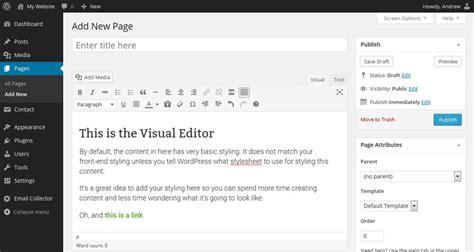 theme editor in wordpress beautiful theme editor wordpress contemporary exle
