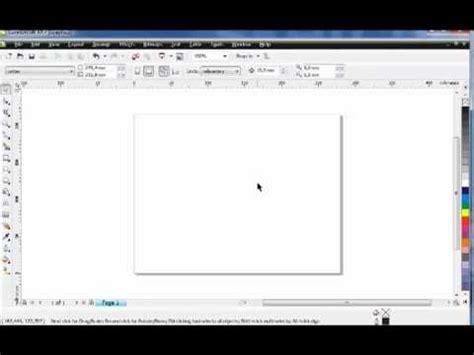 tutorial corel draw basico tutorial 1 de corel draw b 225 sico youtube