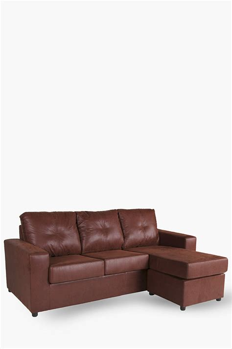 Chaise End Sofa Bed Saddle Stitch Chaise End 3 Seater Sofa Couches Sofas