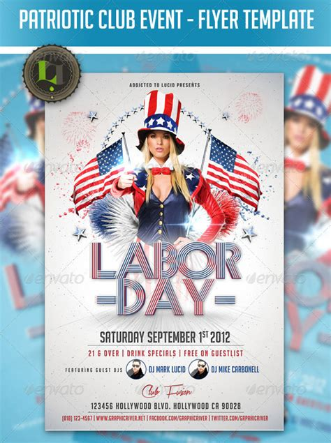 16 Amazing Independence Day Psd Flyer Templates Web Graphic Design Bashooka Free Patriotic Flyer Template