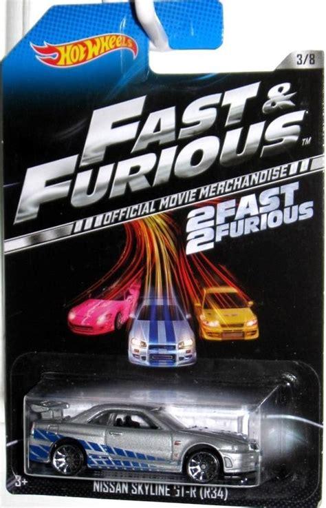 Hotwheels Nissan Skyline Fast And Furious wheels nissan skyline gt r r34 diecast car cars