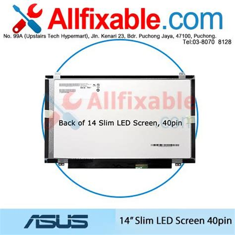 Led 14 0 Slim Asus U46 Pin 40 14 quot slim led lcd 40pin screen for a end 3 9 2018 5 39 pm