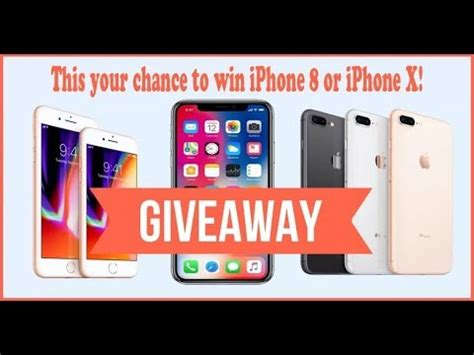 Iphone 6 Giveaway Free 2017 - iphone x free giveaway live stream nov 2017 limited copies iphone 8 giveaway youtube
