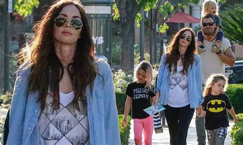 megan fox  husband brian austin green enjoy  family