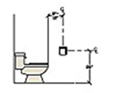 placement of toilet paper holders in bathrooms nkba placement of bath fixtures