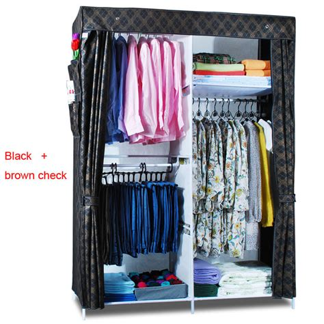 Canvas Clothes Closet by Clothes Closet Wardrobe Armoire Storage Organizer Clothespress Canvas Space Saver Cabinets