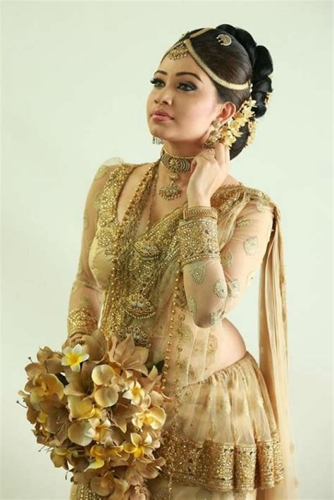 sri lankan hair cuttings for gils 14 gorgeous pics of sri lankan wedding saree blouse designs