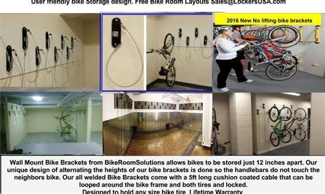 Racks Nyc by Wall Mount Vertical Bike Racks Nyc Bike Room Solutions