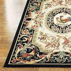 Rooster Runner Rug Rooster Hooked Wool Area Rug With Free 1 8 Quot X 2 6 Quot Accent Rug Traditional Rugs By