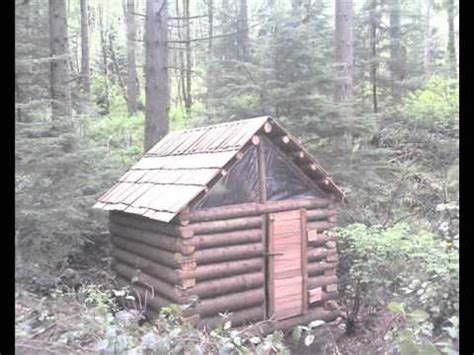 how to build a one room cabin owner built log cabin youtube
